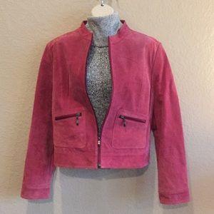 Size Medium Michael Michelle leather coat.
